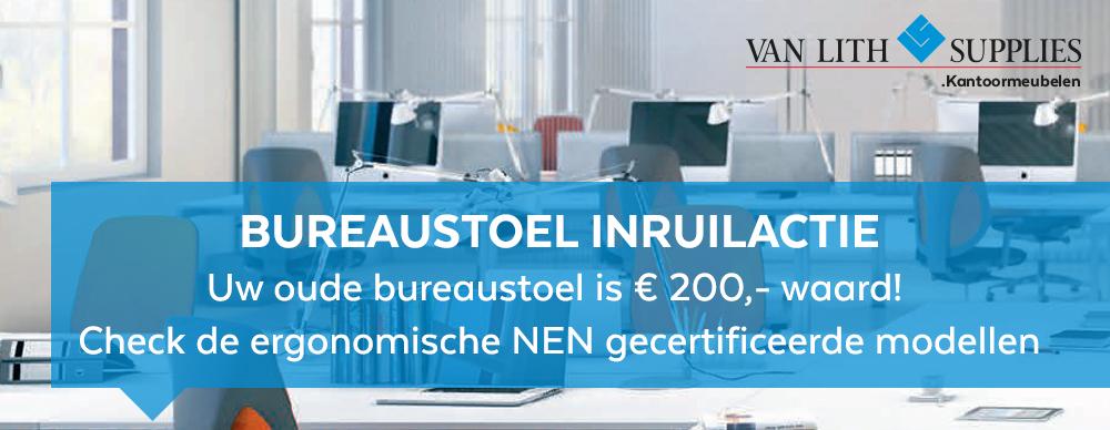 Bureaustoel inruilactie!